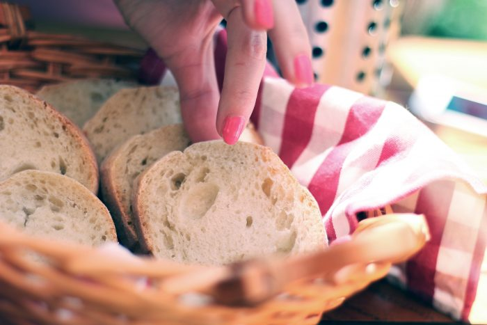 love food hate waste, fresh bread, bread, stale bread, food waste 40 days, food waste for lent